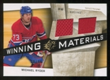 2008/09 Upper Deck SPx Winning Materials Spectrum #WMRY Michael Ryder /99