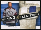 2008/09 Upper Deck SPx Winning Materials Spectrum #WMWC Wendel Clark /99