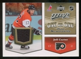 2007/08 Upper Deck One on One Jerseys #OOCP Jeff Carter/Zach Parise