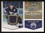 2007/08 Upper Deck One on One Jerseys #OOHM Shawn Horcoff/Brendan Morrison