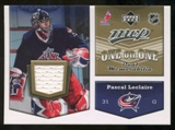 2007/08 Upper Deck One on One Jerseys #OOLL Pascal Leclaire/Manny Legace