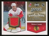 2007/08 Upper Deck One on One Jerseys #OOLW Robert Lang/Jason Williams