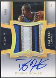 2004/05 Exquisite Collection #DH2 Dwight Howard Limited Logos Rookie Patch Auto /50