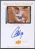 2009/10 Exquisite Collection #64 Stephen Curry Rookie Parallel Auto #16/30