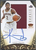 2012/13 Panini Preferred #327 Kyrie Irving Rookie Silhouettes Jersey Auto #26/99