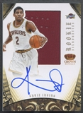 2012/13 Panini Preferred #327 Kyrie Irving Rookie Silhouettes Jersey Auto #30/99