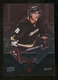 2008/09 Upper Deck Black Diamond Ruby #86 Teemu Selanne /100
