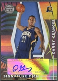 2005/06 Topps First Row #DG Danny Granger Signature Dish Rookie Auto #120/190