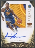 2012/13 Panini Preferred #348 Harrison Barnes Rookie Silhouettes Prime Patch Auto #19/25