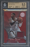 2012/13 Totally Certified #30 Kyrie Irving Rookie Red Materials Jersey BGS 9.5
