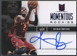 2012/13 Momentum #19 Kyrie Irving Momentous Rookie Blue Auto #02/49