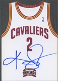 2012/13 Panini Threads #1 Kyrie Irving Rookie Team Threads Auto