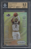 2012/13 Panini Prizm #13 Kyrie Irving Rookie Downtown Bound Prizms BGS 9.5