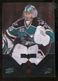 2008/09 Upper Deck Black Diamond Ruby #121 Evgeni Nabokov /100