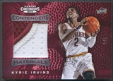 2012/13 Panini Contenders #48 Kyrie Irving Materials Prime Rookie Patch #1/5
