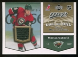 2007/08 Upper Deck One on One Jerseys #OOGH Marian Gaborik/Milan Hejduk
