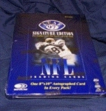 1997 Leaf Signature Football Hobby Box