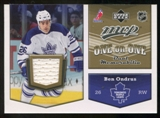 2007/08 Upper Deck One on One Jerseys #OOOH Ben Ondrus/Jeff Hoggan