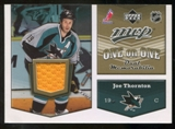 2007/08 Upper Deck One on One Jerseys #OOTL Joe Thornton/Eric Lindros