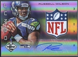 2012 Limited #25 Russell Wilson Rookie NFL Shield Auto #1/1