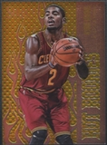 2012/13 Select #31 Kyrie Irving Hot Rookies Rookie Prizms Gold #01/10