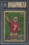 2011 Topps Chrome #25 Colin Kaepernick Superfractor Rookie #1/1 BGS 9.5