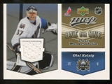 2006/07 Upper Deck Jerseys #OJKD Olaf Kolzig/Marc Denis