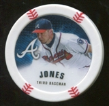 2013 Topps Chipz #CJ Chipper Jones