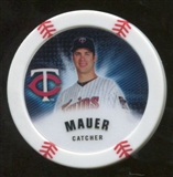 2013 Topps Chipz #JM Joe Mauer