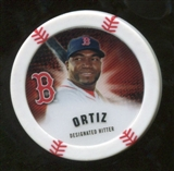 2013 Topps Chipz #DO David Ortiz