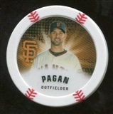 2013 Topps Chipz #AP Angel Pagan