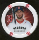 2013 Topps Chipz #DP Dustin Pedroia
