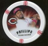 2013 Topps Chipz #BP Brandon Phillips