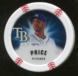 2013 Topps Chipz #DPR David Price