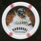 2013 Topps Chipz #PS Pablo Sandoval