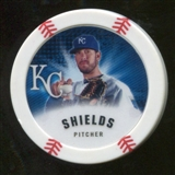 2013 Topps Chipz #JSH James Shields