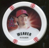 2013 Topps Chipz #JW Jered Weaver