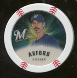 2013 Topps Chipz Gold #JAX John Axford