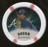 2013 Topps Chipz Gold #MB Michael Bourn