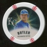 2013 Topps Chipz Gold #BB Billy Butler