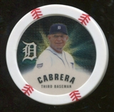 2013 Topps Chipz Gold #MC Miguel Cabrera