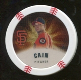 2013 Topps Chipz Gold #MCI Matt Cain