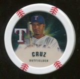 2013 Topps Chipz Gold #NC Nelson Cruz