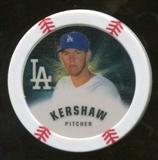 2013 Topps Chipz Gold #CK Clayton Kershaw