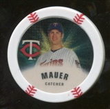 2013 Topps Chipz Gold #JM Joe Mauer