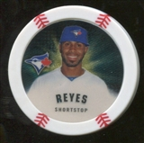 2013 Topps Chipz Gold #JRE Jose Reyes