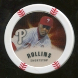 2013 Topps Chipz Gold #JRO Jimmy Rollins