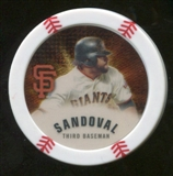 2013 Topps Chipz Gold #PS Pablo Sandoval