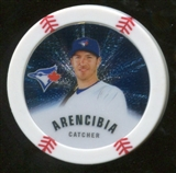 2013 Topps Chipz Silver #JA J.P. Arencibia