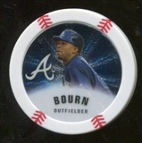 2013 Topps Chipz Silver #MB Michael Bourn